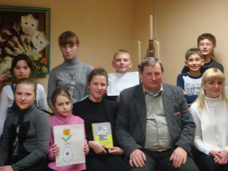 Заседания клуба «КНИЖНЫЙ КОВЧЕГ» 2012 год