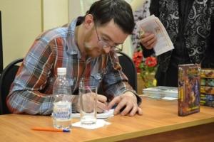 Наш гость - московский писатель Алексей Олейников