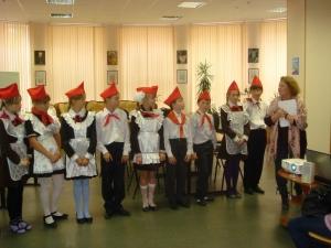 участие в мастер-классе с артисткой М.русаковой
