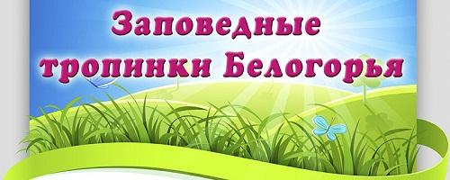 """Медиа-проект """"Заповедные тропинки Белогорья"""""""