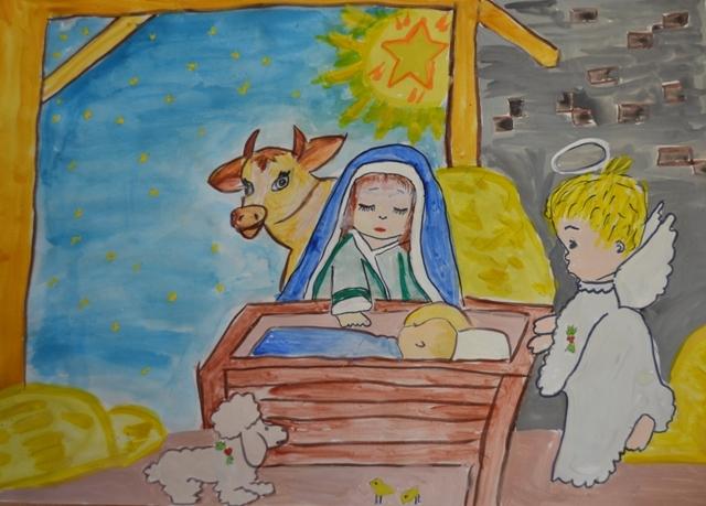Конкурс детского рисунка для детей с ОВЗ  «Рождество и Новый год: зимних книжек хоровод»